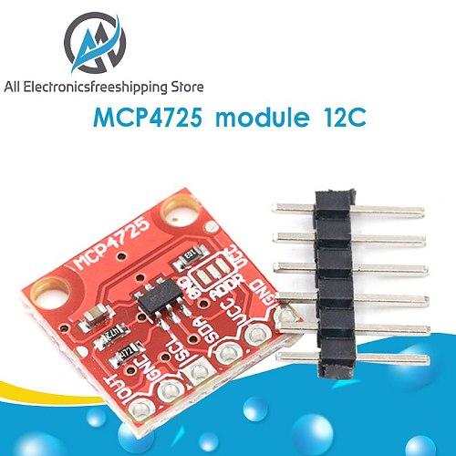 MCP4725 12Bit I2C DAC Digital Converter Module Digital To Analong EEPROM Development Board For Arduino 2.7V-5.5V