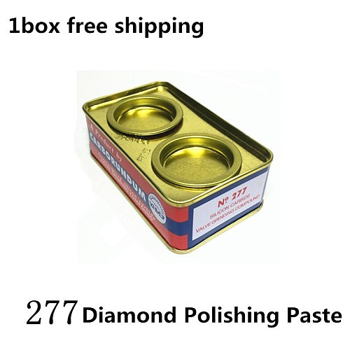 Jrealmer 1pc Abrasive Paste Diamond Polishing Paste Silicon Caeblde Granularity 80/180 grit For Molds Hard Metal Grinding