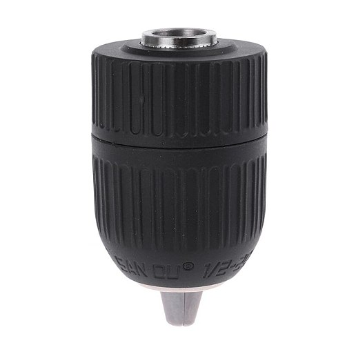 SDS Plus Shank to 1/2\  20 UNF Keyless Chuck Adapter Impact Drill 3-Jaw 2-13mm power hammer drill
