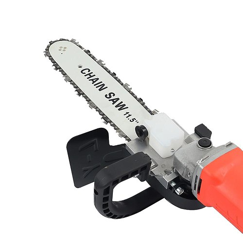 Black Durable Felling Saw Portable Electric Drill Multifunction Cutting Practical Electric Chain Saw