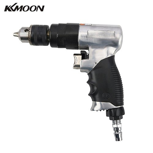 KKMOON Handheld Mini Professional 3/8inch Air Electric Drill Multipurpose 1800RPM Speed Pneumatic Impact Drill Rotary Power Tool