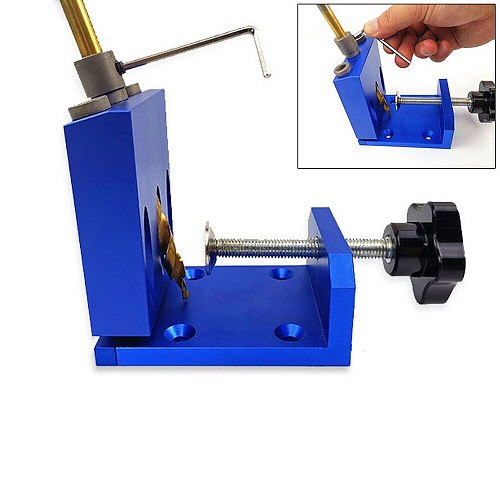 Woodworking tools, round bar puncher, woodworking auxiliary punching  tool  parts