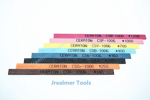 Jrealmer CERATON 1006 Ceramic Fiber 1*6*100mm Whetstone Japan original