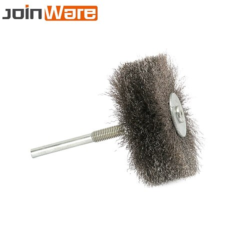 2Pcs Stainless Steel Wire Abrasive Brush Wheel Polishing Grinding Brush For Metal 6MM Shank Drill Rotary Tool High Quality
