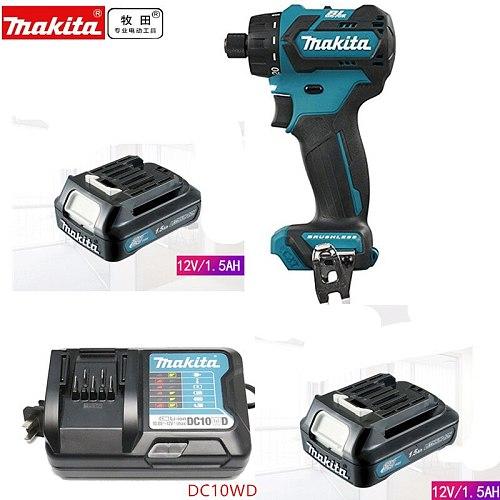 Makita DF032D DF032DSME DF032DWME  10.8V CXT Li-Ion Cordless Brushless Drill Driver Body Only