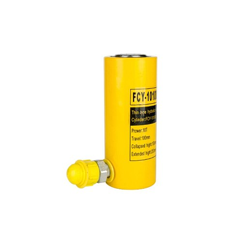 1Pcs Long Type Hydraulic Cylinder FCY-10100 Hydraulic Jack with Output of 10T, Stroke of 100mm