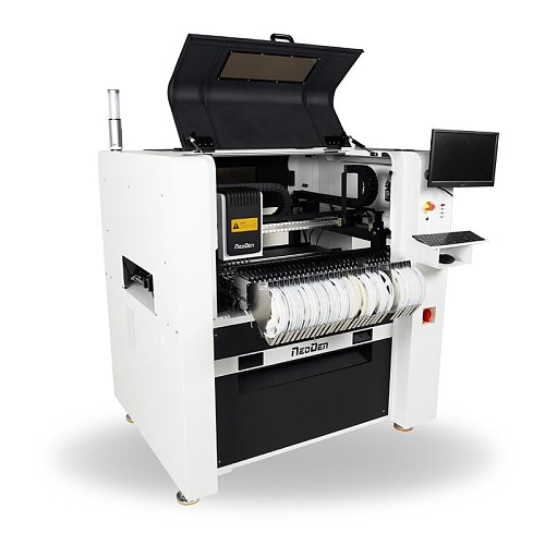 Hangzhou NEODEN SMD Components Desktop SMT Pick and Place Machine with 6 Mounting Heads 8 Cameras(Mark,head,Big ICs)