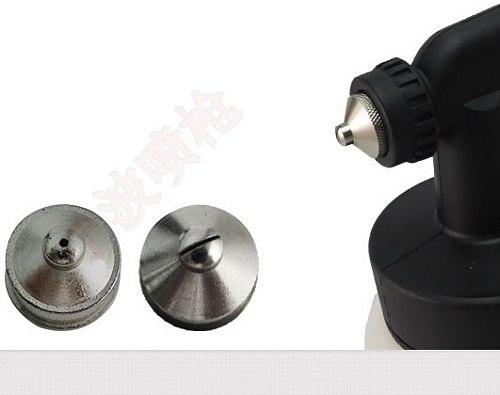 Plastic spray gun low pressure suction spray gun 1.3 tip for photocatalyst in addition to formaldehyde corrosive  air treatment