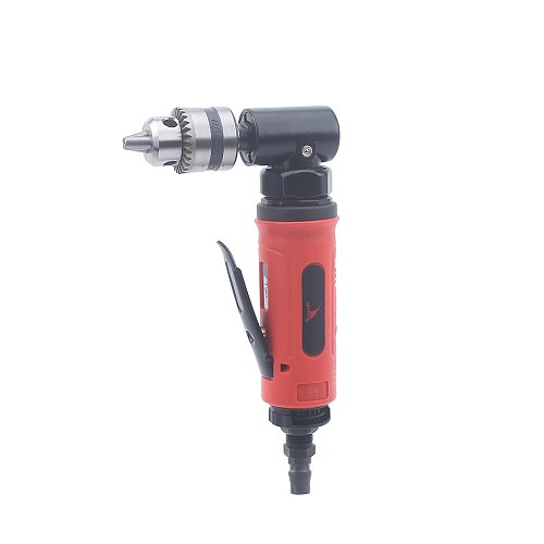 High Quality 1/4 0.6-6.5mm Pneumatic Angle Drill / 90 Degree Air Drill Tool Speed Drill