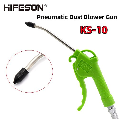 Air Blow Gun Pistol Pneumatic Duster Removal Gun Trigger Cleaner Cleaning Tool for Compressor