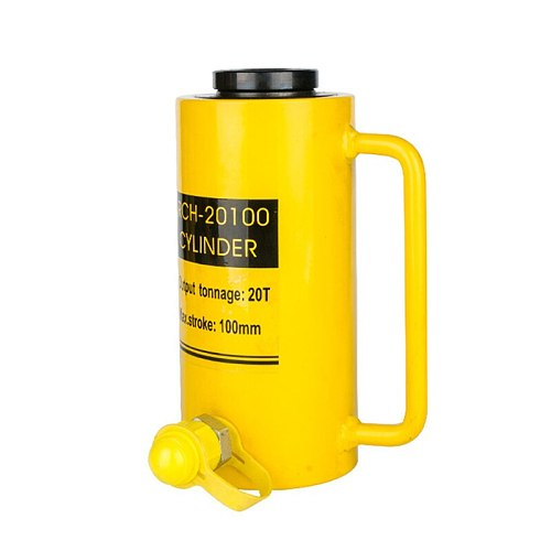 Hollow Hydraulic Cylinder RCH-20100 Hydraulic Jack with Tonnage of 20T, Work Travel of 100mm