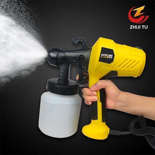 ZHUI TU  High Quality Electric Spray Gun 220V 400W High Power Home Electric Paint Spray Gun Sprayer For Car Furniture Spraying