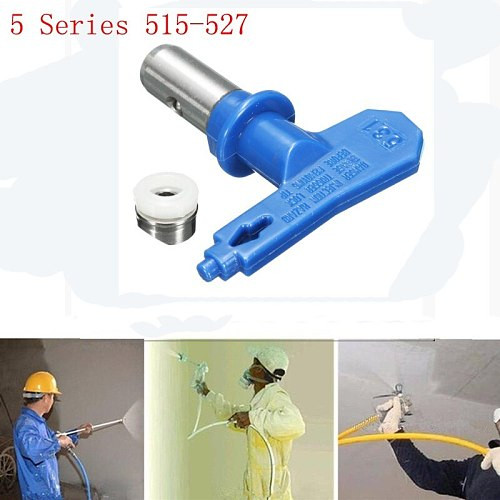 Blue 5 Series Airless Spray Tips Spray Nozzle Spraying Machine Accessories  For Airless Spray Gun And Paint Sprayer