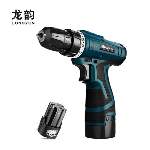 16.8V Electric drill with extra Lithium Battery Electric Screwdriver Torque drill charger Cordless drill home diy Power Tools
