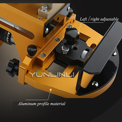 CNC Plate Type Cutting Machine Woodworking Pneumatic Puncher Three-in-one Horizontal Drilling Tool Side Hole Punching Machine HY