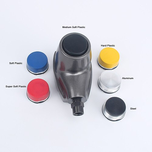 High Quality Pneumatic Hammer Hand-held Air  Palm Hammer 6 Different Hardness Tips