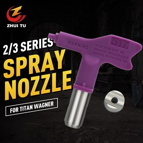 5/6 series spray paint latex paint putty high pressure airless sprayer nozzle airless spray gun nozzle suitable for Titan Wagner