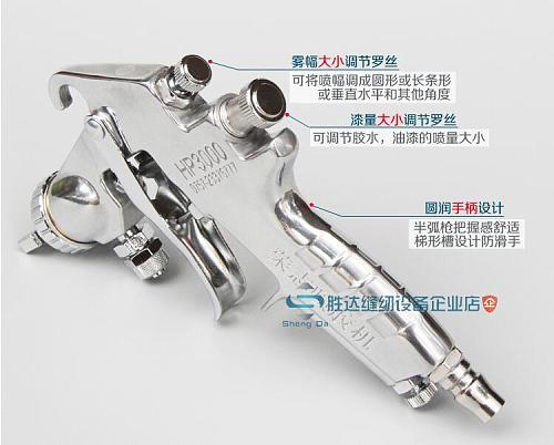 HP-3000 energy-saving pneumatic spray glue gun  High-pressure paint spray gun, sliding door car high atomizing spray gun
