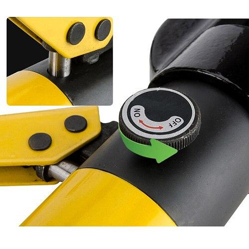 iGeelee Hydraulic Steel Bar Cutter  Hydraulic Rebar Cutting for 4-22mm Hydraulic Steel Bar Cutting Tool Rebar Cutting Tool