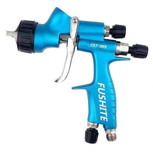 waerta716BProfessional HVLP 600ML 1.3mm Nozzle Gravity Pneumatic Air Paint Spay Gun For Car Auto Repair Tool Painting Kit