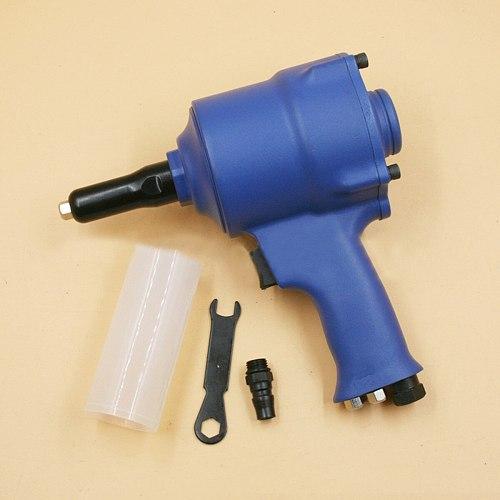 1300lb Traction Power 90psi Working Pressure Air Riveter Pneumatic Pistol Type Rivet Air Power Operated Riveter