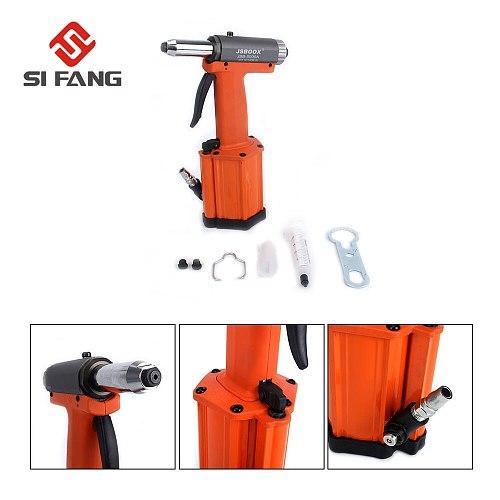 SI FANG High Quality Powerful Air Riveter Gun Industrial Handheld Pneumatic Riveting Tool 2.4mm,3.2mm,4mm Nose Air Rivets Nail