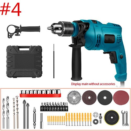 Impact Electric Drill Electric Rotary Hammer with BMC and Accessories Multi-purpose Percussion Drill 650/780W Electric Drill