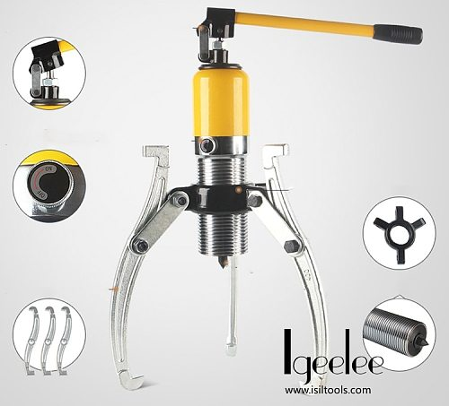 iGeelee Hydraulic Wheel Bearing Puller  Hydraulic Bearing Puller 30Ton YL-30T HydraulIC Gear Puller with Good Quality CE Proved