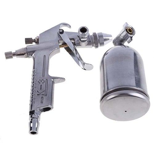 Magic Spray Gun Sprayer Air Brush Alloy Painting Paint Tool Gravity Feeding Airbrush Penumatic Furniture