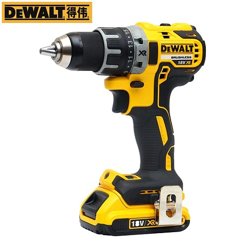 DEWALT 20V MAX Cordless Drill  Brushless 1/2-Inch DCD791 With One Battery