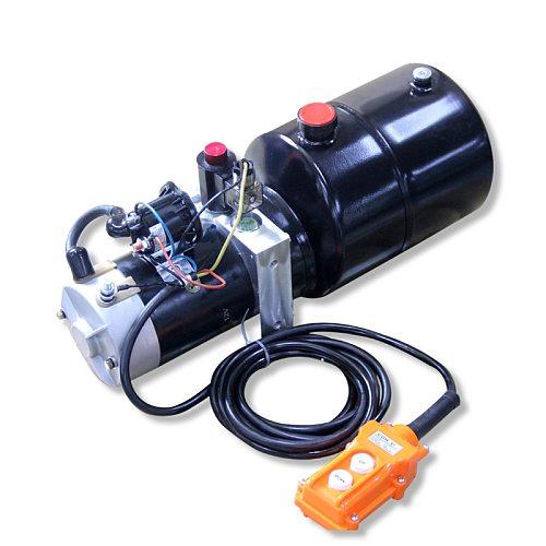 DC 12v high quality Single Acting hydraulic pump 5L 2.2kw 20Mpa