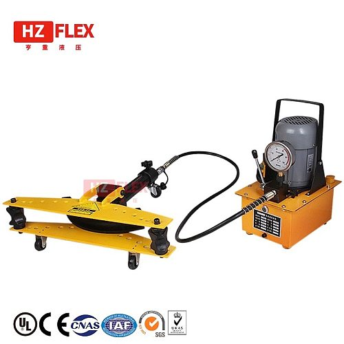 13mm to 34mm 220v 0.75kw hydraulic Pipe Bender Electric tube Bending Machine Bendable round tube with 8 sets of dies