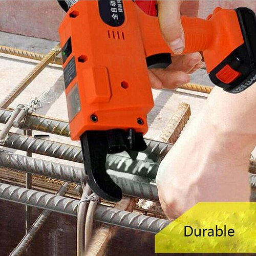 Automatic Rebar Tying Machine  Rechargeable Lithium Battery Electric Tool Rebar tier 1500mAh/3000mAh