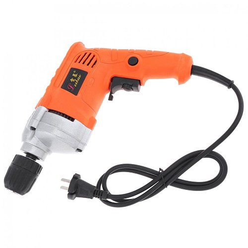 220V 710W High Power Handheld Electric Drill with Rotation Adjustment Switch 10mm Drill Chuck for Handling Screws