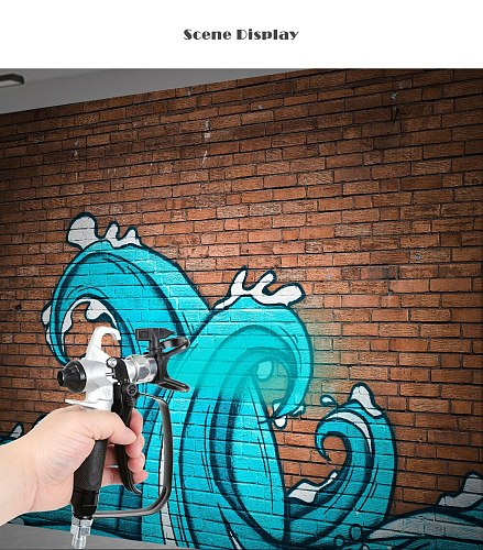 517 Nozzle 1/4 Inch Airless Paint Spray Gun with High Pressure Pipe 7.5m/ 10m/15m Airless Paint Hose For Spray Gun Paint Sprayer