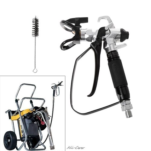 1 Pc 3600PSI Airless Paint Spray Gun For Wagner Sprayers With 517 Tip Nozzle Tools for high pressure spraying 3600PSI