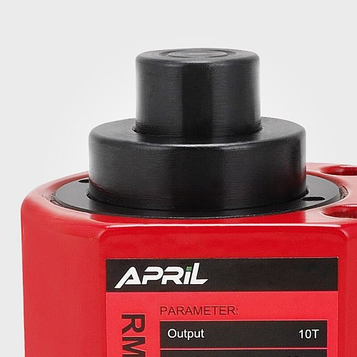 Muti Stages Type Hydraulic Cylinder RMC-101L Hydraulic Jack with tonnage of 10T, work travel of 21mm