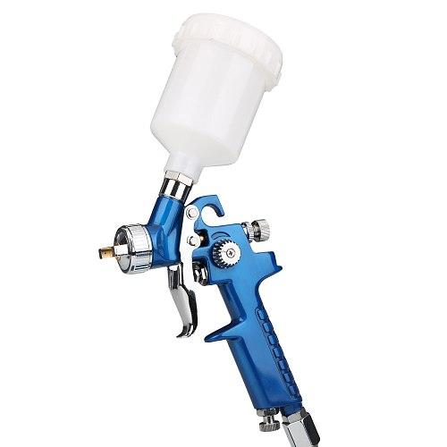 0.8mm/1.0mm Nozzle H-2000 Atomization Spray Gun HVLP Mini Air Paint Spray Gun Airbrush  For Painting Car Aerograph