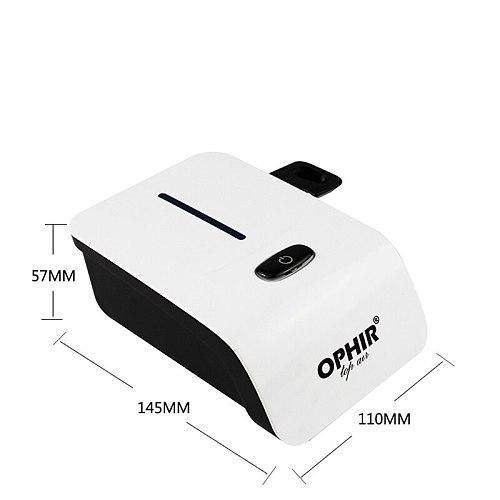 OPHIR Pro Makeup Set 0.3mm Airbrush Makeup System Kit with Mini Air Compressor & Concealer Foundation Blush Eyeshadow Set & Bag