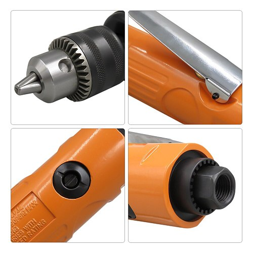 3/8  Straight Air Drill Air Drilling Machine Professional Tool for Hole Drilling pneumatic tools