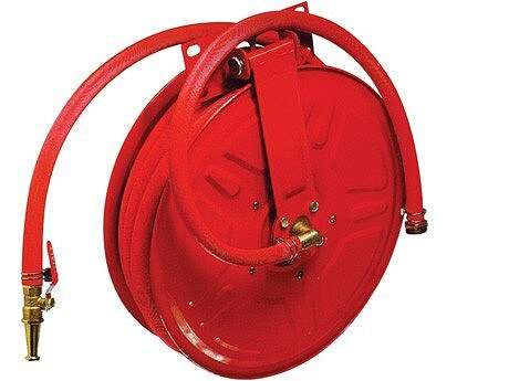 Fire hose reel without hose