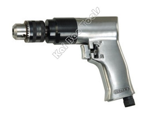 Pneumatic Drill 3/8`` Collet Air Drilling Machines Pistol Type Reversible Air Power Driller Tools High Quality (KBPT)