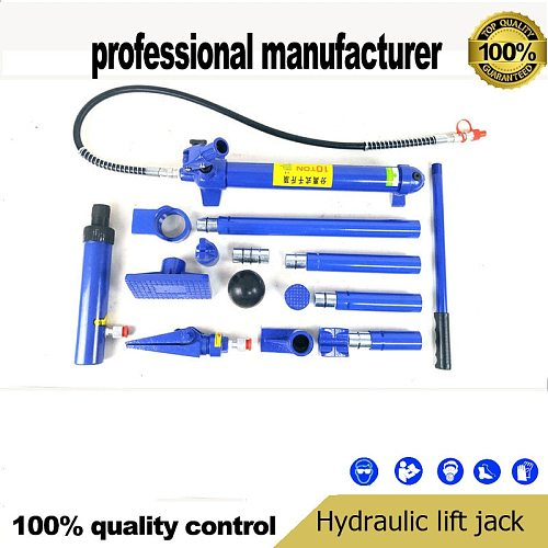 10 ton separate hydraulic jack 10T sheet metal hydraulic separation of the top vehicle maintenance tools