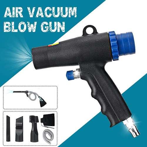 High Pressure Air Duster Compressor Air Vacuum Blow Suction Guns Pistol Type Air Wonder Guns Kit Pneumatic Cleaning Tool