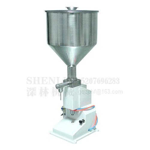 A02 filling machine Pneumatic oil tomato paste sauce bottling filler cosmetic cream packaging manual filling machine food 50ml