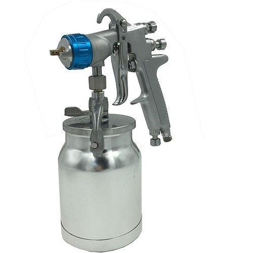 Spray Gun 1.3mm Nozzle Stainless Steel Nozzle Auto Car Paint Spot Repair Aluminum  Cup Sprayer LVMP Spray Gun