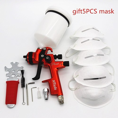 New paint lance free freight professional Gravity spray gun car paint gun painted high efficiency LVMP 1.3mm NOZZLE