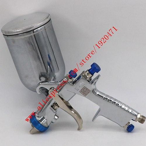 Imported W101 134g hvlp hand manual spray gun W-101 paint spray gun plastic tank 0.8/1.0/1.3/1.5/1.8mm