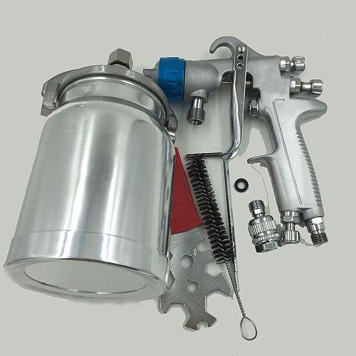 LVMP Suction Feed Spray Gun 1000cc Aluminum Tank Airbrush Car Paint Spray Gun Pneumatic Spray Paint Tool