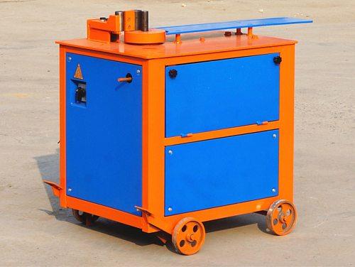 0-210 degree 380v 3kw Three foot pedal control high-speed 4-20 mm steel rebar hydraulic bending machine